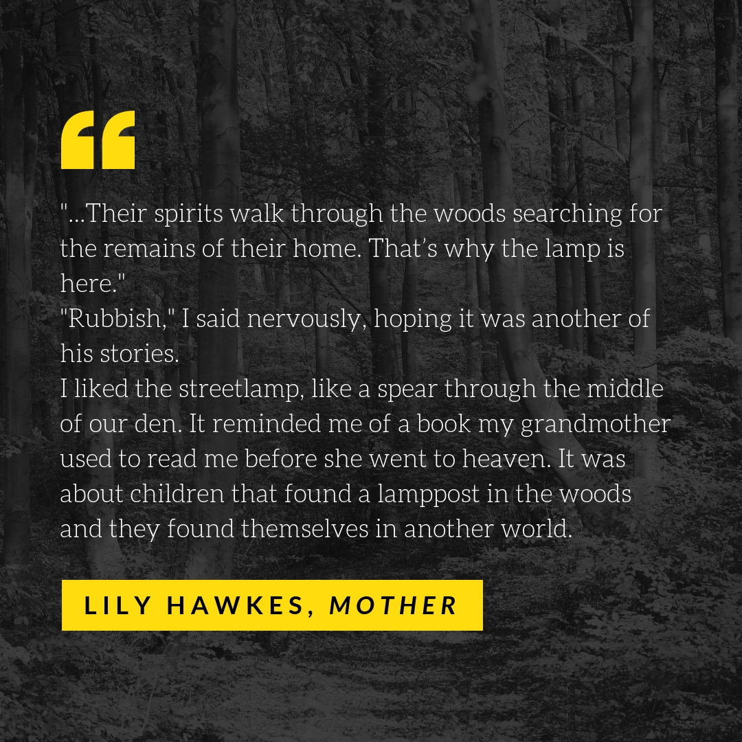 Lily Hawkes, mother
