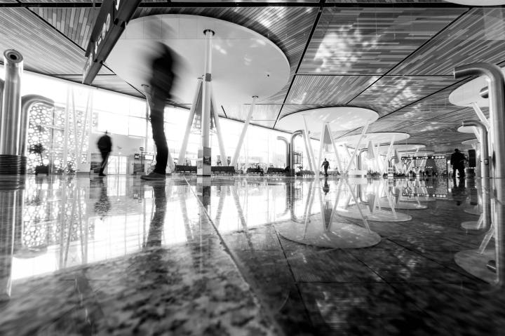 God and the Airport Check-In Girls by Paul Taylor-McCartney